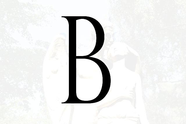 Bokstaven B