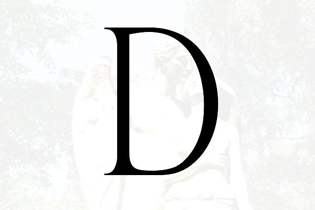 Bokstaven D