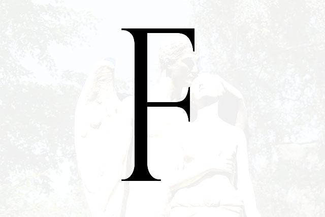 Bokstaven F