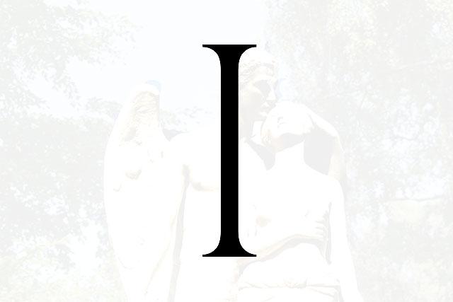 Bokstaven I