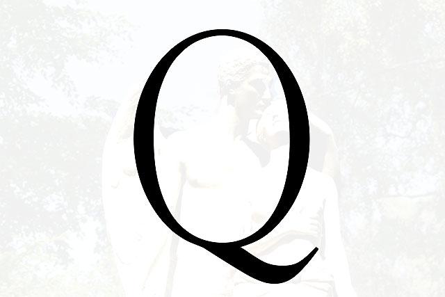 Bokstaven Q