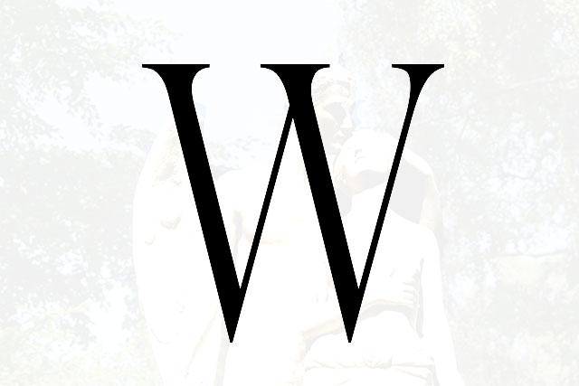 Bokstaven W
