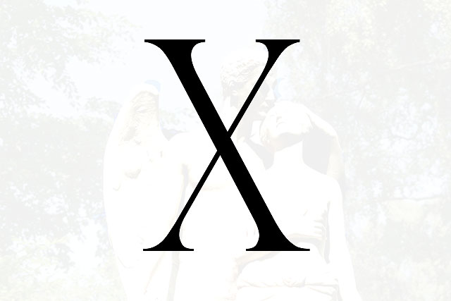 Bokstaven X