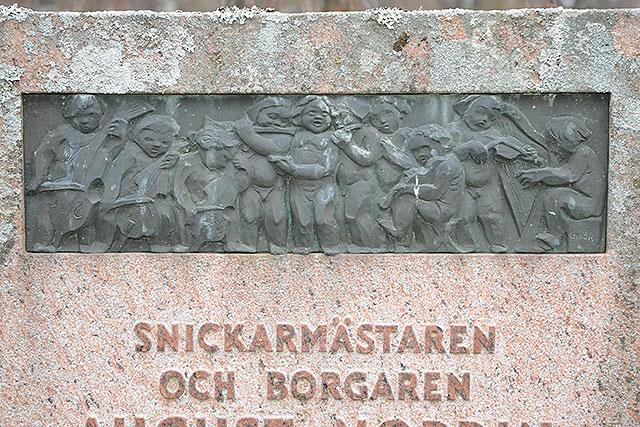 Sten nr 137 – Nordins familjegrav