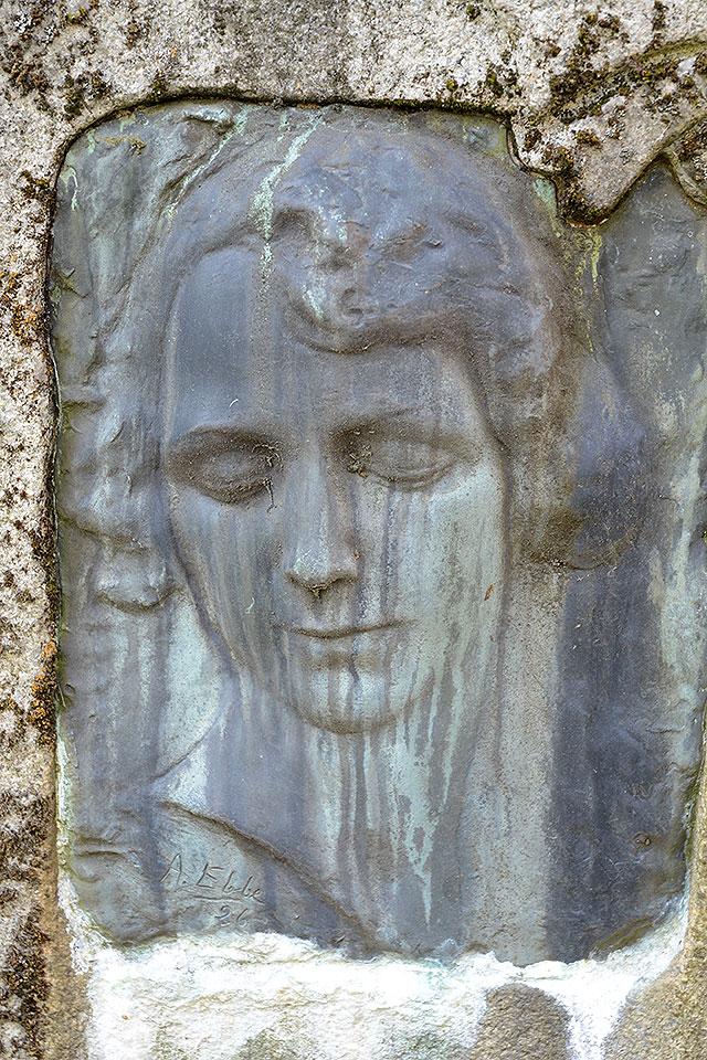 Sten nr 144 – Märta Bergman