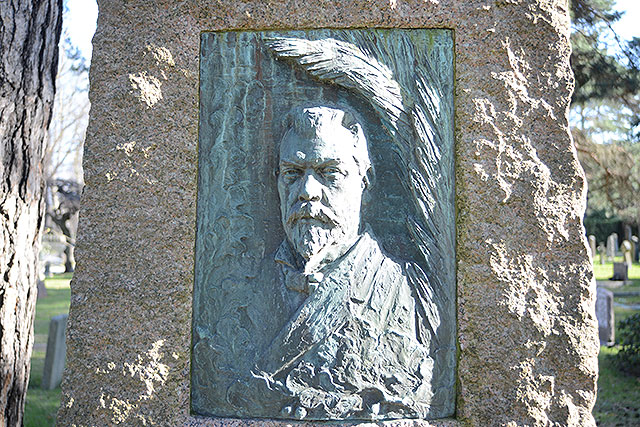 Sten nr 163 – Ernst Blomberg