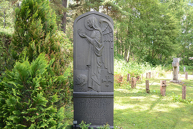 Sten nr 18 – Fredrik Hagström