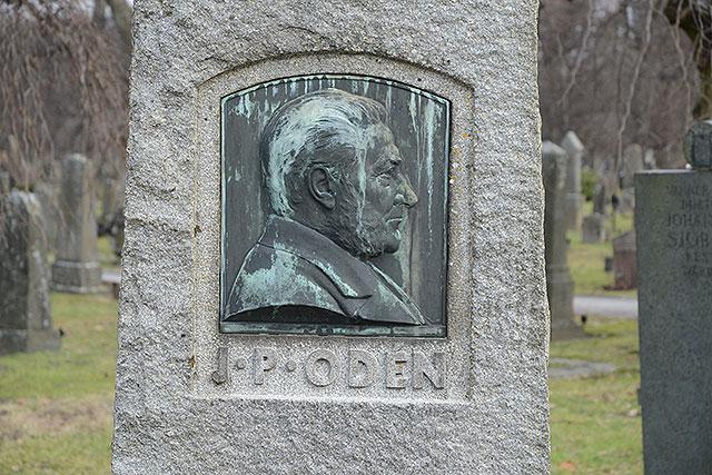 Sten nr 216 – Johan Peter Odén