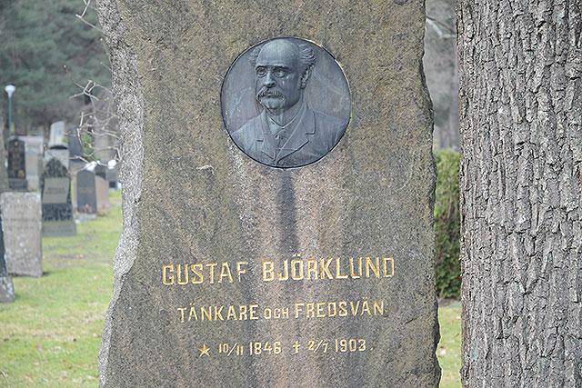 Sten nr 223 – Gustaf Björklund