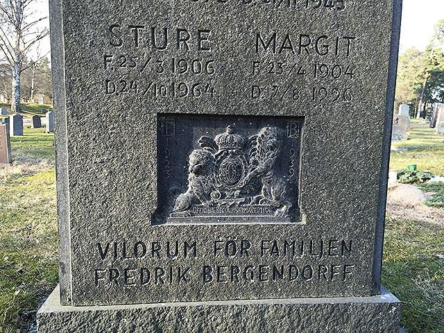 Sten nr 266 – Ruth Bergendorff