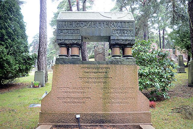 Sten nr 303 – Helgo Zettervall