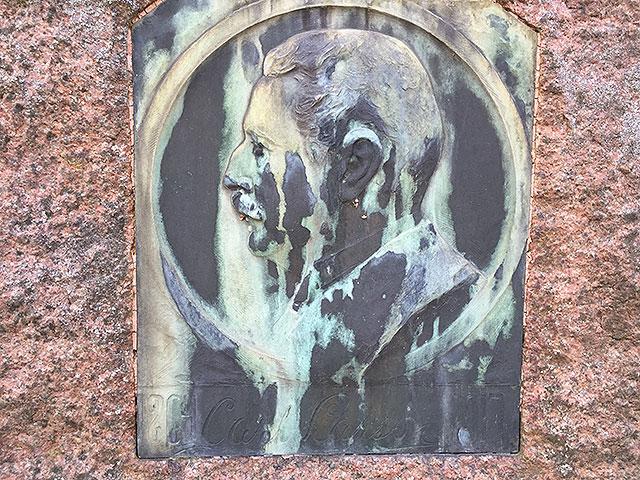 Sten nr 327 – Carl Larsson