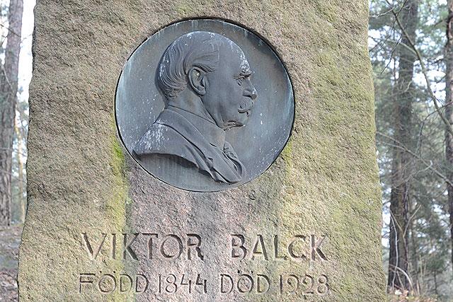 Sten nr 82 – Victor Balck