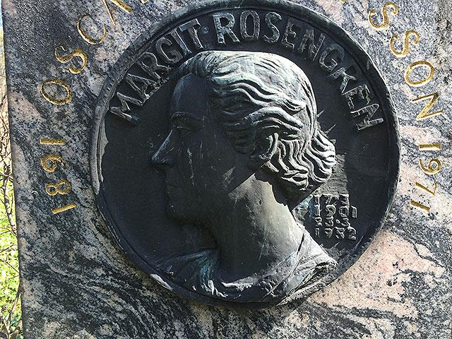 Sten nr 87 – Margit Rosengren