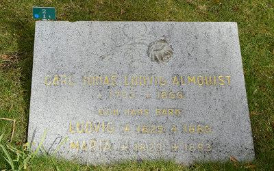 Sten nr 096 – Carl Jonas Love Almqvist