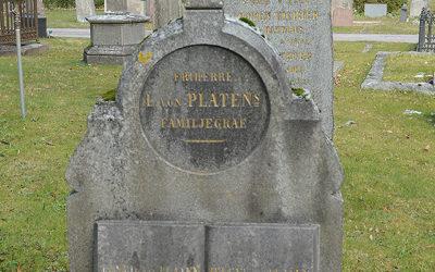 Sten nr 088 – Gustaf Von platen