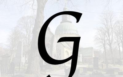 Kända på G