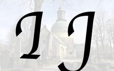 Kända på I – J