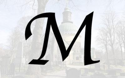 Kända på M