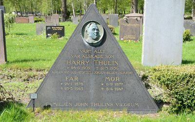 Sten nr 495 – Harry Emfrid Thulin