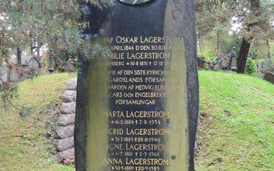 Sten nr 526 – Oskar Lagerström