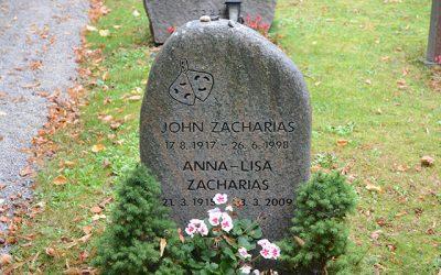 Sten nr 541 – John Zacharias