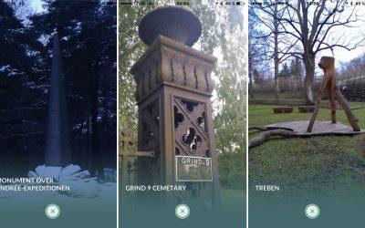 Det finns 3 Pokemon gym på Norra begravningsplatsen