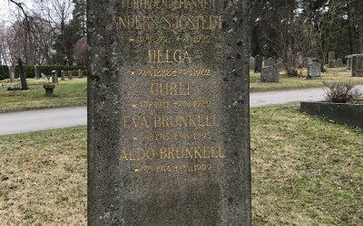 Sten nr 664 – Anders Sjöstedt