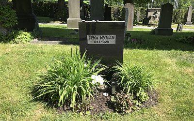 Sten nr 654 – Lena Nyman